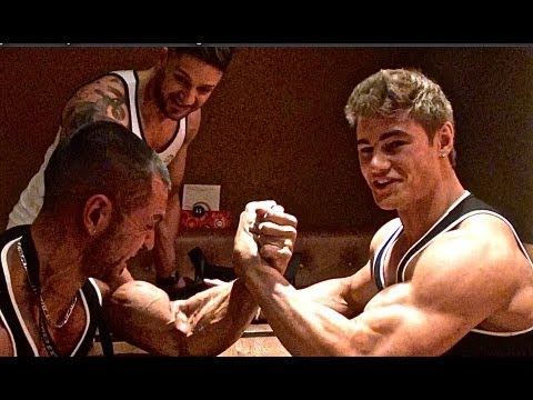 Jeff Seid Vs. Alon Gabbay Arm Wrestling