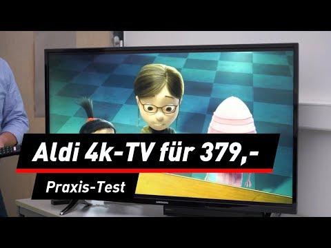 Medion Life X14093: 4K-TV mit 49-Zoll bei Aldi im T ...