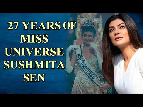 Sushmita Sen celebrates 27 years of Miss Universe win