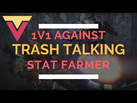 Hilarious 1v1 Against Trash Talking Stat Farmer