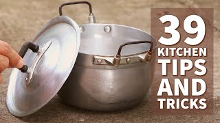 Video 39 Awesome Kitchen Tips and Tricks MP3, 3GP, MP4, WEBM, AVI, FLV November 2018