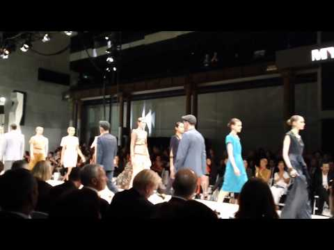 Myer's Spring/Summer 2011 Fashion Show Finale
