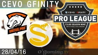 Virtus.Pro vs Splyce - CEVO Gfinity Pro-League S9 Finals - Groupe A