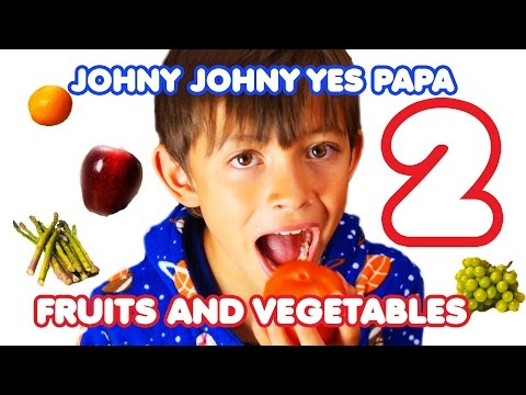 Download Johny Johny Yes Papa 2 - Fruits and Vegetables Song for Children | Nursery Rhymes| Kids Songs HD Video