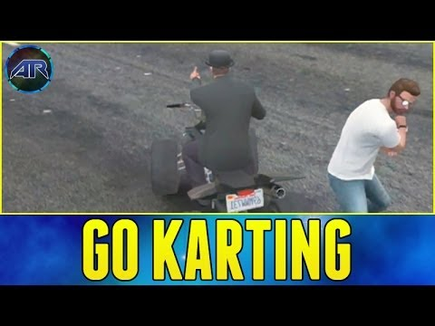 Grand Theft Auto 5 Online : Go Kart Racing - Part 2 (видео)