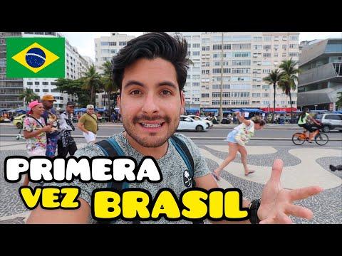 Mis PRIMERAS IMPRESIONES de BRASIL - NO es lo que PENSABA | Rio de Janeiro