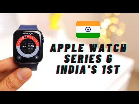 Apple Watch Series 6 India Unboxing