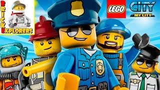 Lego City My City cartoon game for kids Gameplay
