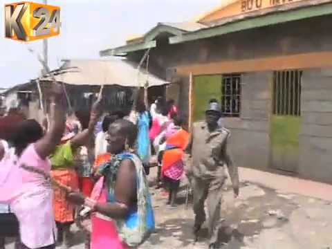 Maasai women raid Isinya Town in search of illicit brews