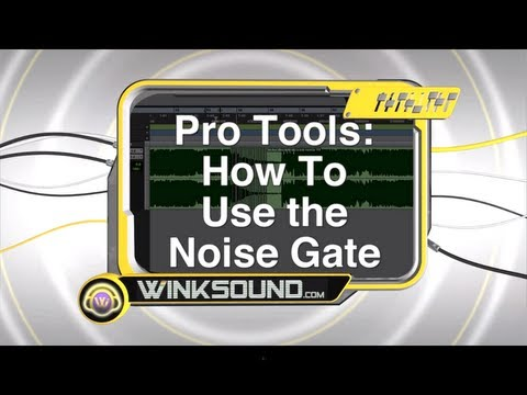 Pro Tools: How To Use the Noise Gate | WinkSound