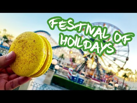 Festival of Holidays | DISNEY FOOD!