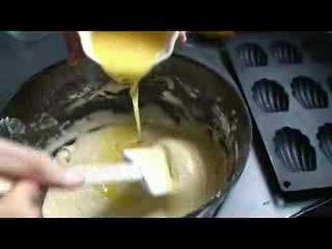 Recette des madeleines tradition au citron par Hervé Cuisine