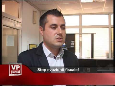 Stop evaziunii fiscale!