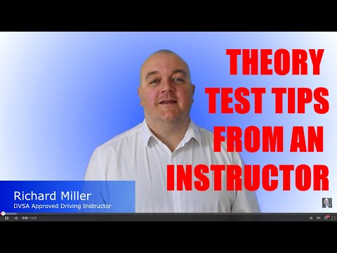 2018 Theory Test Tips - Theory Test Questions and Answers & Hazard Perception Explained