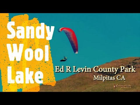 Sandy Wool Lake - Ed R Levin County Park in Milpitas, CA