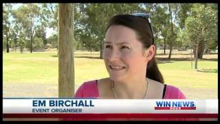 Heyfield Australia  city photo : WinNews - Heyfield Bushfire Fundraiser. Lead Up Story