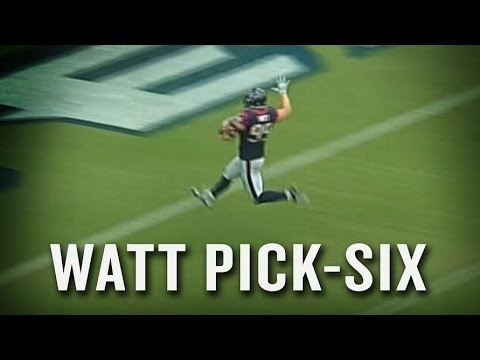 second - Do not try to throw the ball over J.J. Watt. You can't throw it high enough. Subscribe: http://www.youtube.com/subscription_center?add_user=sbnation Check out our full video catalog: youtube.com/...