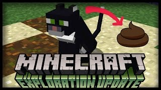 CATS WILL POOP IN MINECRAFT 1.11? Possible New Features For Cats!