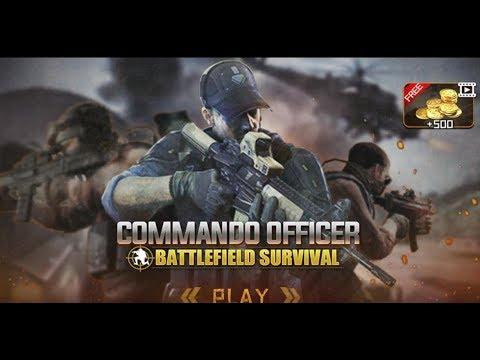 《突擊隊軍官戰場生存》手機遊戲玩法與攻略教學!