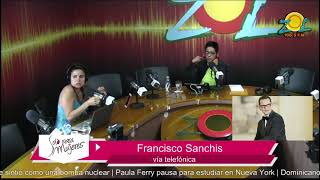Zoila Luna y Francisco Sanchis comentan sobre el terremoto en México