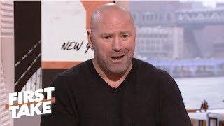 Video Dana White calls out Oscar De La Hoya for lying in ESPN interview | First Take MP3, 3GP, MP4, WEBM, AVI, FLV Juli 2019