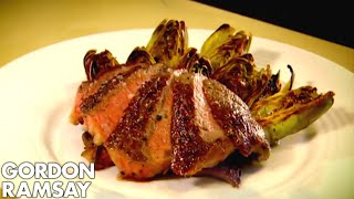 Butter Roasted Rib-Eye Steak with Grilled Artichokes - Gordon Ramsay by Gordon Ramsay