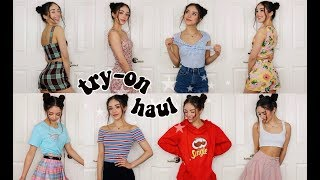 Video HUGE SUMMER TRY-ON HAUL! MP3, 3GP, MP4, WEBM, AVI, FLV Juni 2018