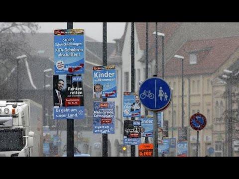 Γερμανία: Κρίσιμες περιφερειακές κάλπες στην σκιά του προσφυγικού