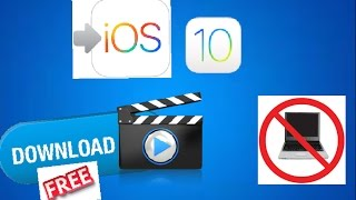 How to download any youtube video on IOS! this works on all ios devices and shoutout to shane for finding the secret message