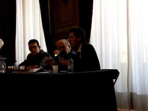 Ignasi Moreta parla del pensament religiós de Joan Maragall en una trobada amb Jordi Pujol