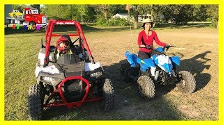 6. RACE! Polaris Ace 150 Vs Polaris Outlaw 110