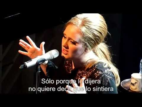 Adele - Rumour has it [Subtitulado al Español] 1