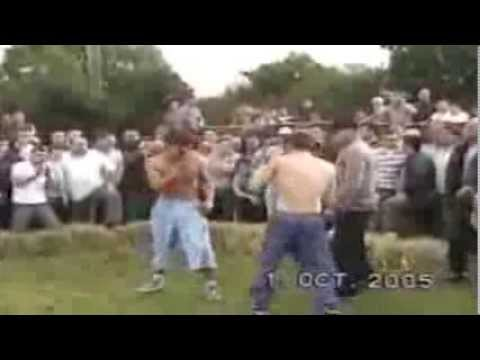 Knuckle - a local lad and a romanian gypsy bare knuckle fighting for 24 minutes.