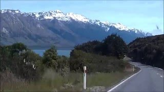 Glenorchy New Zealand  city images : The beautiful drive from Queenstown to Glenorchy, New Zealand