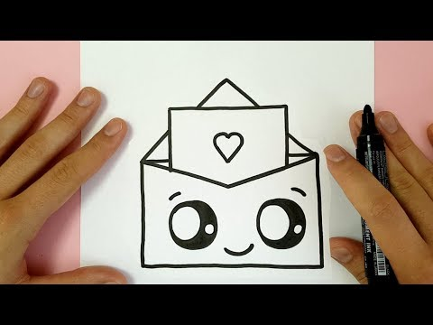 Video HOW TO DRAW A SUPER CUTE LOVE ENVELOPPE - VALENTINE'S DAY download in MP3, 3GP, MP4, WEBM, AVI, FLV January 2017