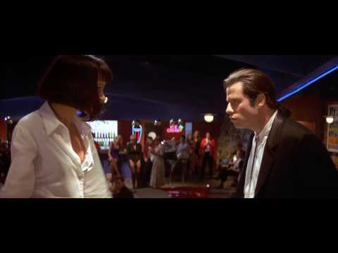 pulp fiction - Pulp Fiction - Dancing Scene [HD] Song : Chuck Berry - You Never Can Tell HD720p.