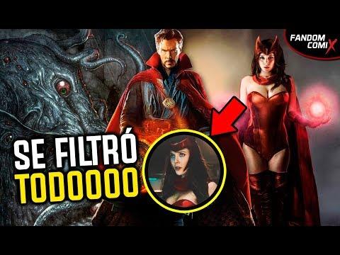 Doctor Strange 2: Filtran detalles de la película