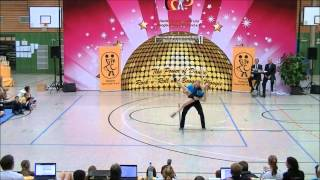 Nadine Stünkel & Sebastian Rott - Landesmeisterschaft Hessen 2013-14