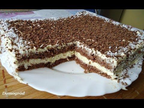 Murzynek kokosowy  pyszny, łatwy i tani - Cocoa sponge cake with coconut