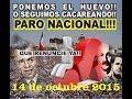 Paro Nacional 14.10.15 - YouTube