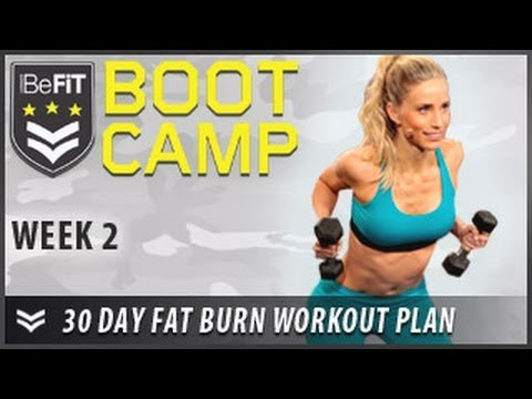 30 Day Fat Burn Workout Plan: Week 2- BeFiT Bootcamp