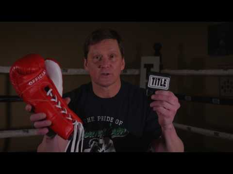 Lace Up Glove Converter - TITLE Boxing - Hook & Loop Converter
