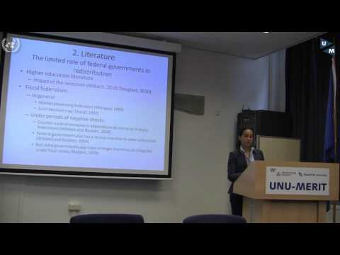 Lecture: Funding Higher Education amid the Financial Crisis -- Dr Cecile Hoareau