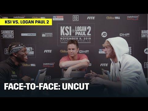 FACE-TO-FACE | KSI vs. Logan Paul 2