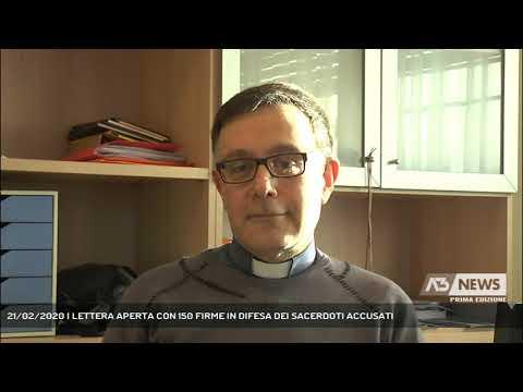 21/02/2020   LETTERA APERTA CON 150 FIRME IN DIFESA DEI SACERDOTI ACCUSATI