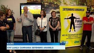 CVV lança campanha Setembro Amarelo para prevenção do suicídio