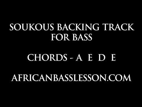 Soukous Backing Track For Bass