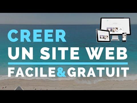 comment construire une page web