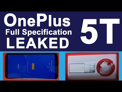OnePlus 5T LEAKS | Full Specification Details in Hindi | One Plus 5T Leaked Before its Launch Event