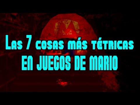 TOP: Las 7 cosas más aterradoras en juegos de Mario